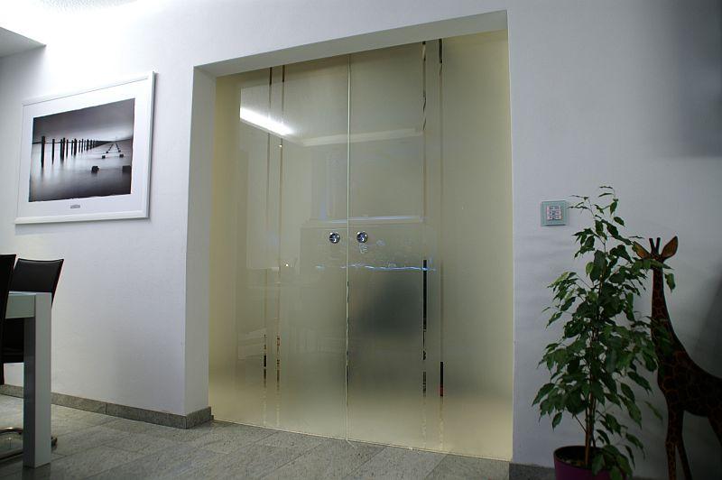 hausbaublog hammerbachaue » blog archive » wohnzimmertür montiert, Wohnzimmer